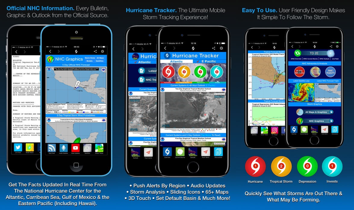 tracking app for iphone 5 best hurricane tracking apps for iphone and android 2017 16284