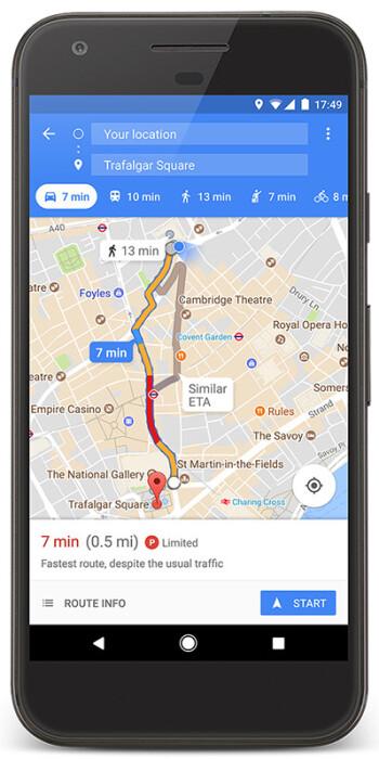Google Maps gewinnt neue Parkmöglichkeiten, Schwierigkeits-Icons in 25 Städten außerhalb der U.S.