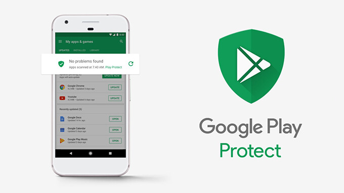 The Google Play Protect logo may appear on your next smartphone's packaging