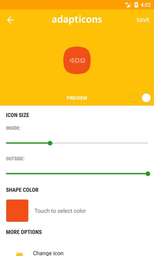 Spotlight: Adapticons ist eine außergewöhnliche Android App, mit der Sie Ihre eigenen Icons
