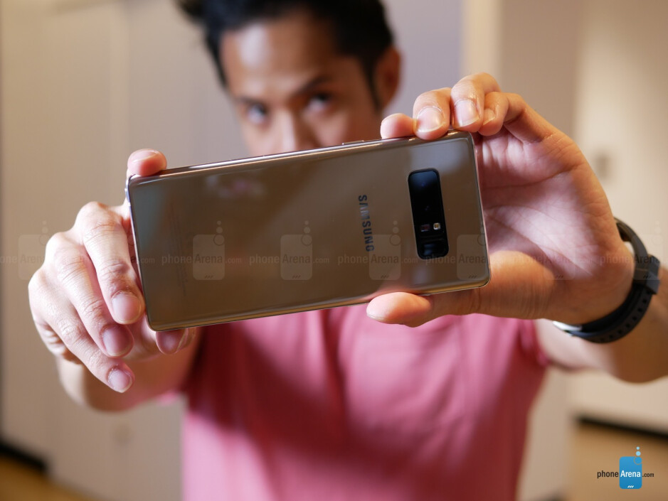 Results: the Note 8's secondary camera is a controversial topic