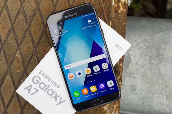 Unlocked Samsung Galaxy A7 (2017) now available in the US