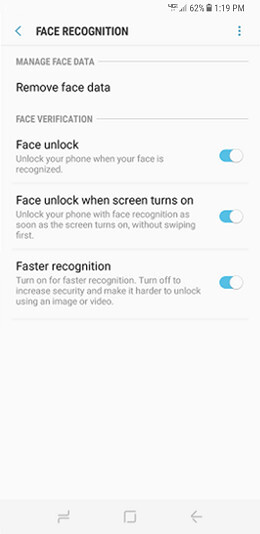 Samsung Galaxy S8 and S8+ updated with faster face recognition at Verizon