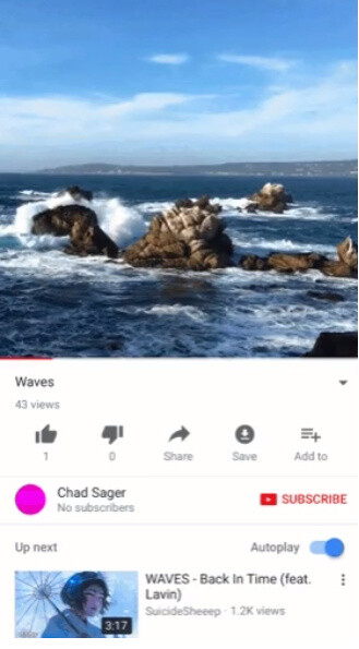 New scalable player allows for full-screen vertical video