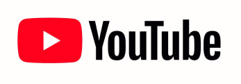 The new YouTube logo puts the emphasis on the popular red play button