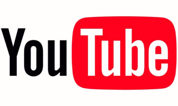 YouTube logo before the re-design