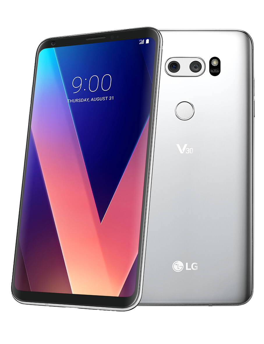 LG V30 goes official: stunning bezel-less design and high-end audio in one powerful package