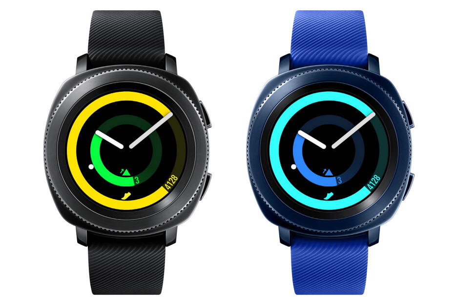 """Samsung Gear Sport is official: 1.2"""" Super AMOLED display, 5ATM water resistance"""