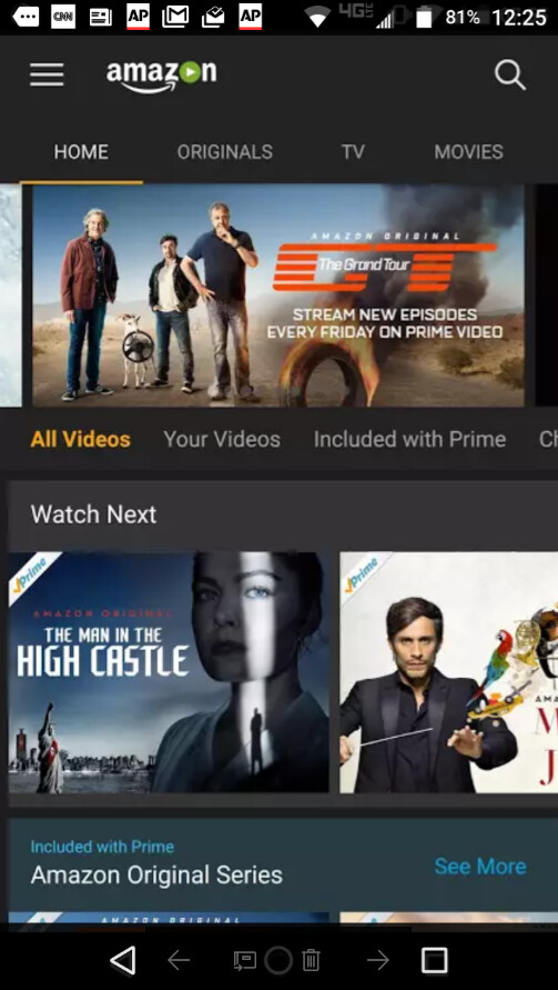 The Amazon Prime Video app is now available from the Google Play Store - Amazon Prime Video app now available directly from the Google Play Store in the U.S.