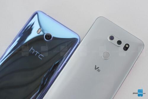 LG V30 vs. HTC U11 Image Gallery