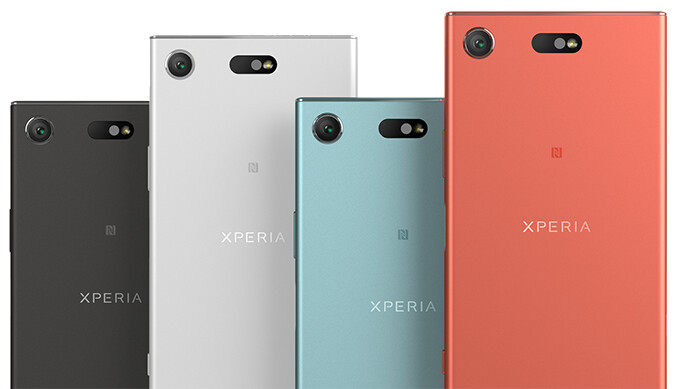 Sony Xperia XZ1 size comparison versus Galaxy S8, Note 8, LG V30, G6, iPhone 7, OnePlus 5