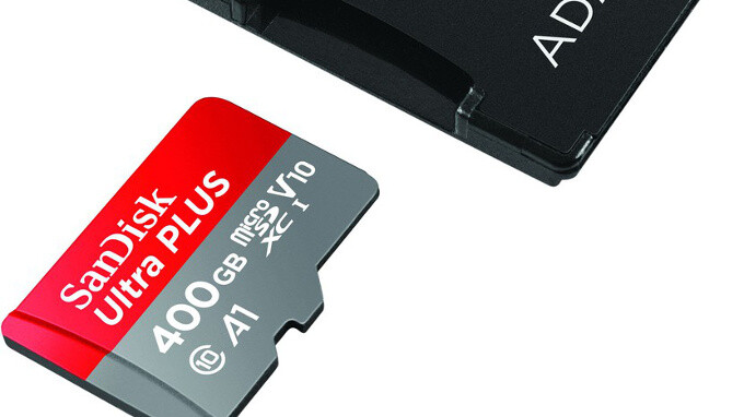 You can now buy a 400GB microSD card (if you can afford it)