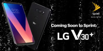 The LG V30+ (with 128 GB of storage space) is launching on Sprint