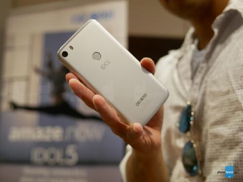 Alcatel Idol 5 hands-on