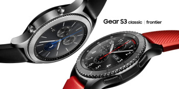 The Gear S3 comes in two flavors, a rugged frontier and a cleaner, classic model