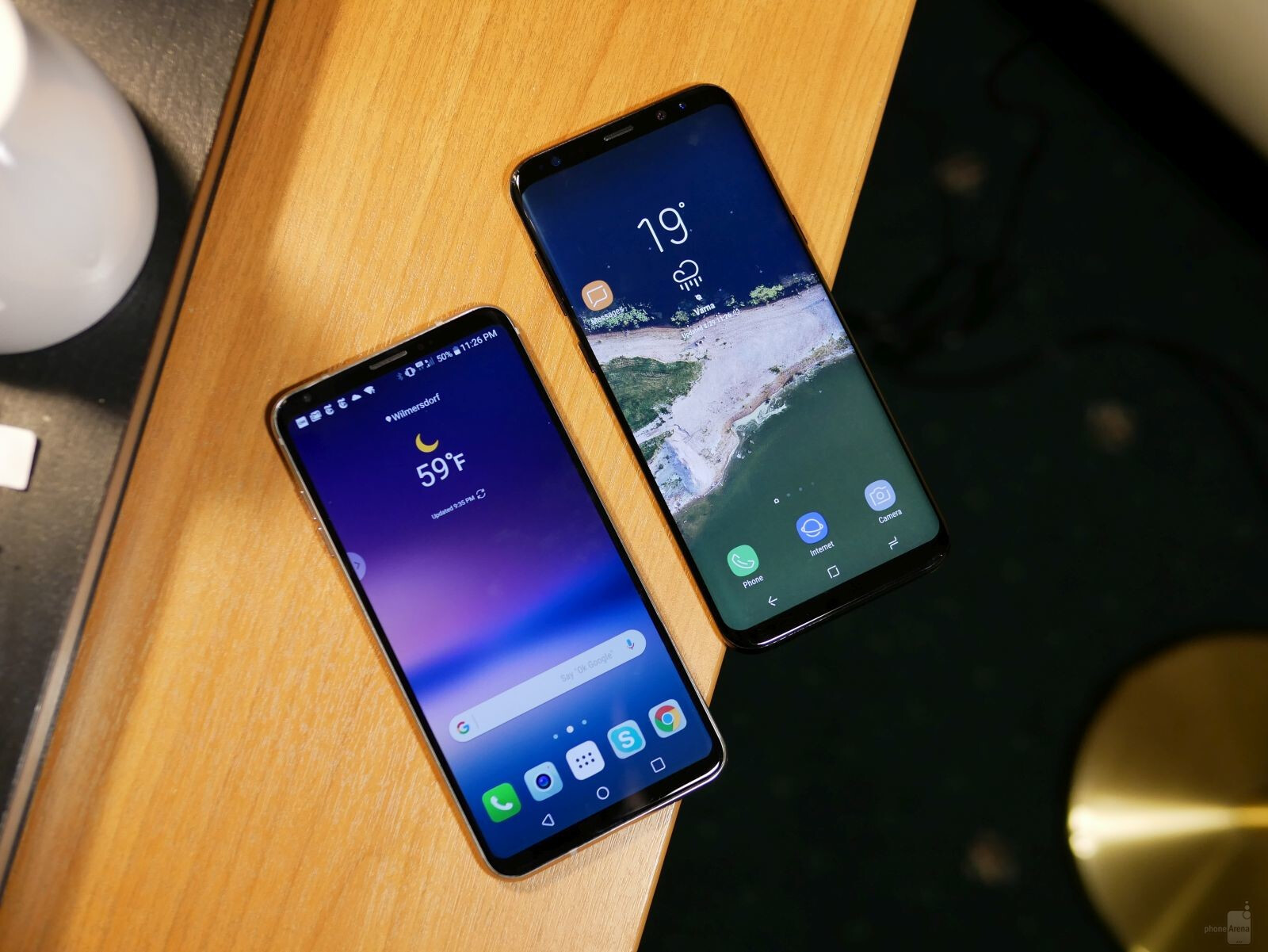 LG V30 vs Samsung Galaxy S8+ first look comparison ...