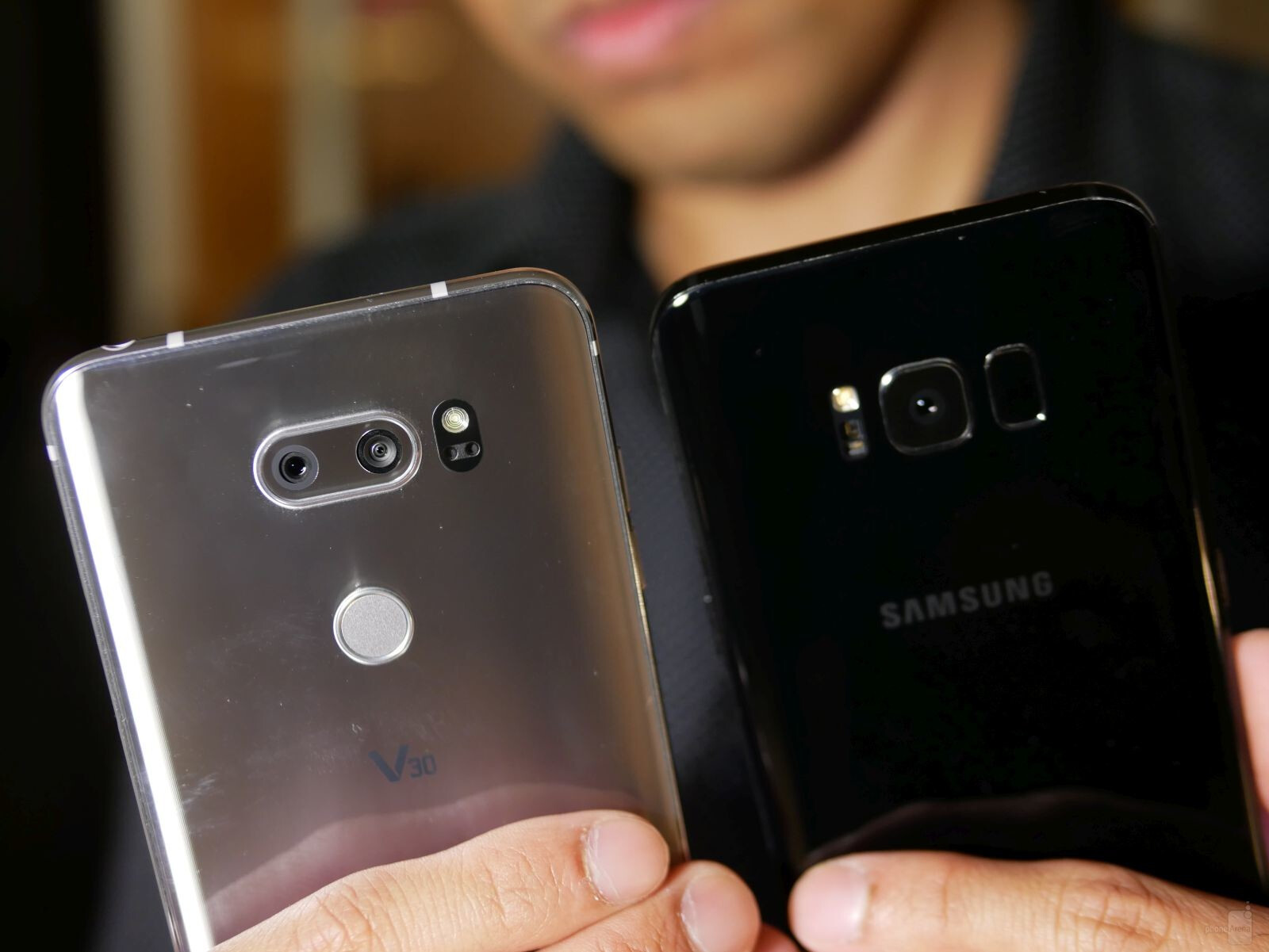 Switching from iphone to samsung galaxy s8 plus vs lg v30