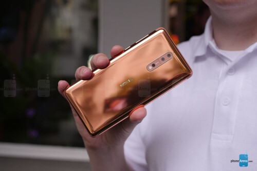 Nokia 8 Hands-On Gallery