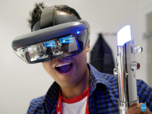 Star Wars Jedi Challenges AR experience hands-on