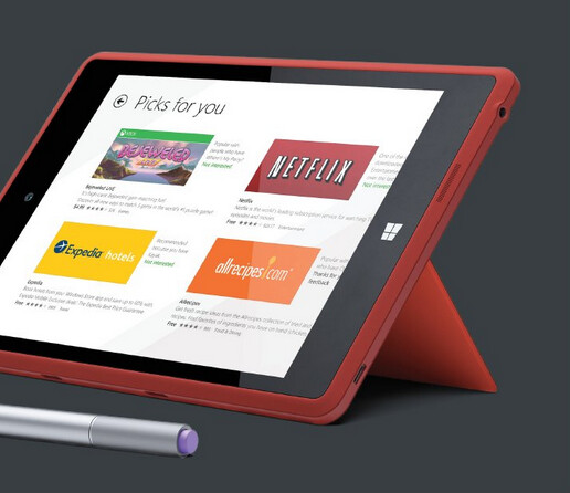 Pictures and specs of the canceled microsoft surface mini for Surface mini bureau