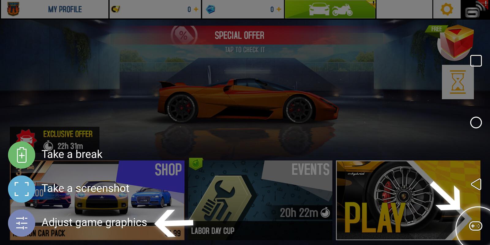 How to use LG V30 Game Tools - PhoneArena