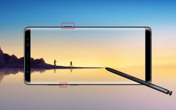 Wie man einen Screenshot auf der Samsung Galaxy Note 8
