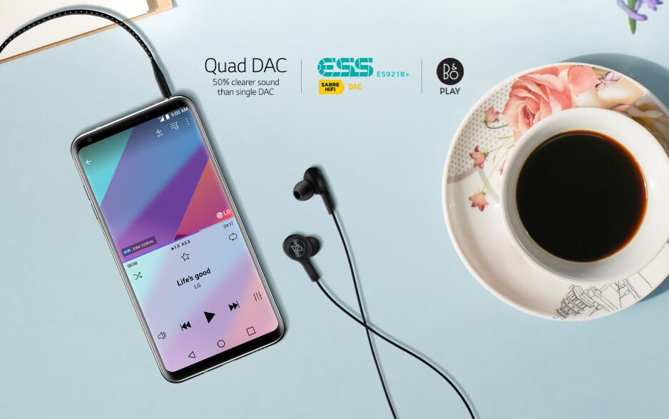 How turn on (and make sense of) the LG V30's Quad DAC