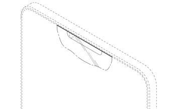 Embrace the notch! Samsung design patent details display with a sensor cutout, looks awfully familiar