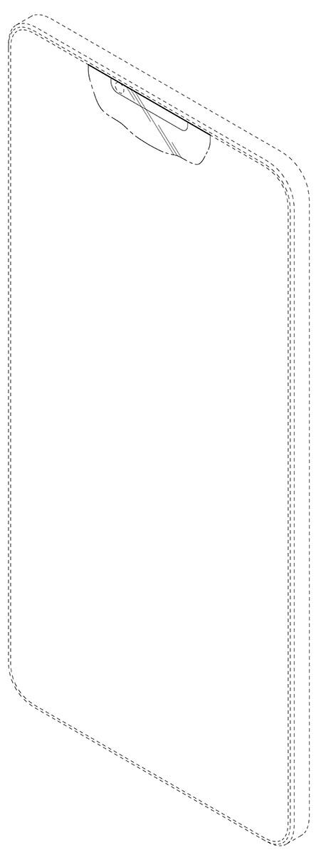 Samsung notch design patent images
