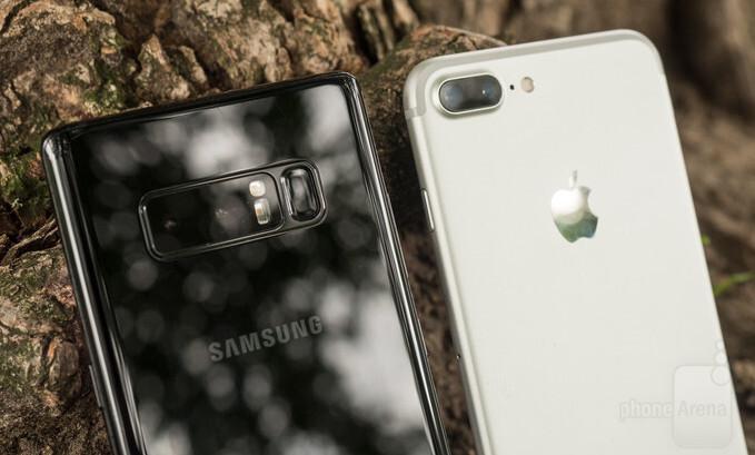 Note vs iphone 8 Plus vs xperia z3