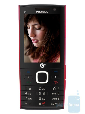 The Nokia X5 is smart, running Symbian S60 3rd Edition