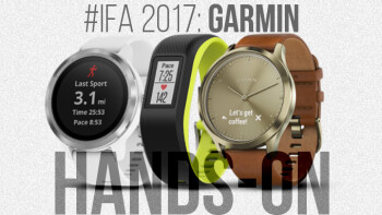 Garmin Vivoactive 3, Vivomove HR and Vivosport: IFA 2017 hands-on