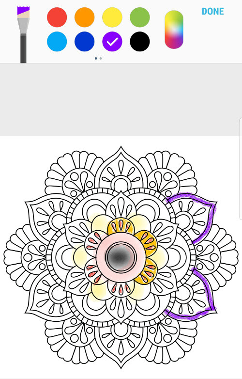 The new Penup app is a great portal for coloring books and other ...