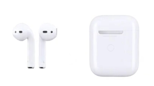 AirPods 2 features a battery indicator on the outside of the charging case