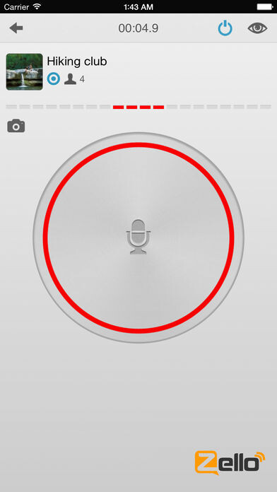 Red Hot Zello PTT Walkie Talkie App half, Leben zu retten während Hurrikan Harvey