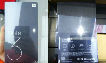 Xiaomi Mi Note 3 leaked retail box confirms Snapdragon 660 CPU and 6GB RAM inside