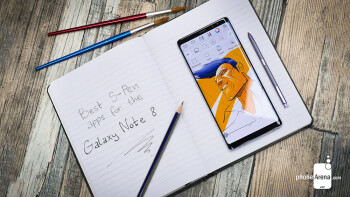 Best S-Pen apps for the Galaxy Note 8