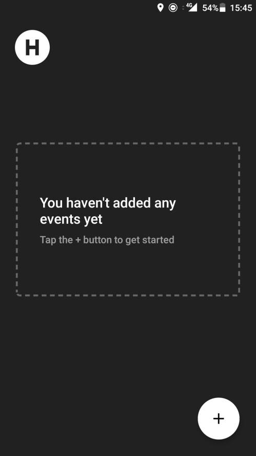 Scheinwerfer: Verpassen Sie nie etwas mit Beeilung, die stilvollste Countdown-App, die wir bisher gesehen haben
