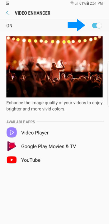 "What the Galaxy Note 8 ""Video enhancer"" does, and how to use it"