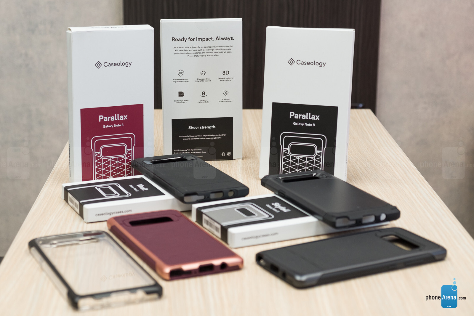 All Caseology Note 8 cases