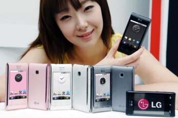 LG Optimus GT540 is going to be offered in four color variants