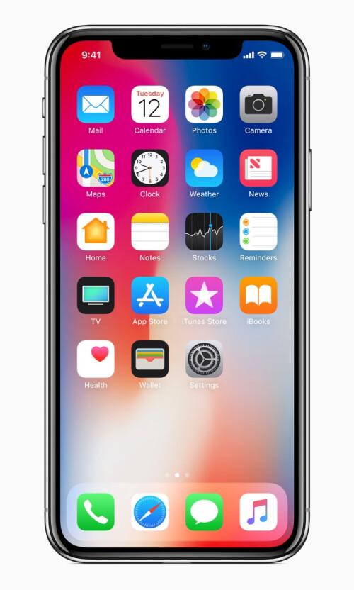 Apple iPhone X in photos