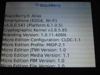 BlackBerry 9670 & BlackBerry Atlas pose for the camera