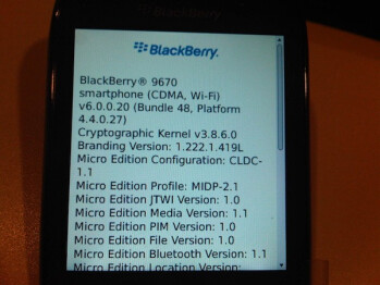 BlackBerry 9670 & BlackBerry Atlas pose for the camera