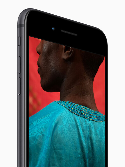 Apple iPhone 8 and 8 Plus in photos