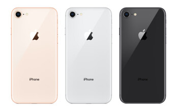 The iPhone 8 and 8 Plus will both come in three colors — Gold, Silver, and Space Gray