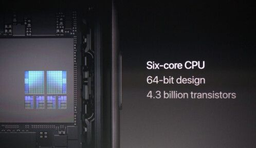 The new A11 Bionic chipset