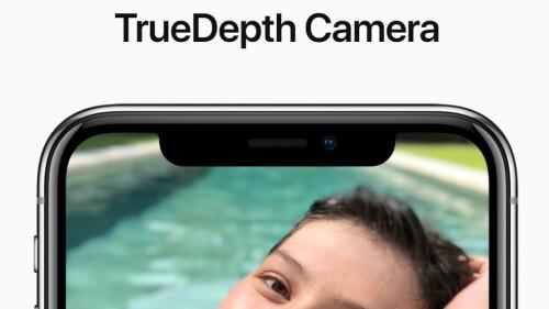 TrueDepth selfie camera