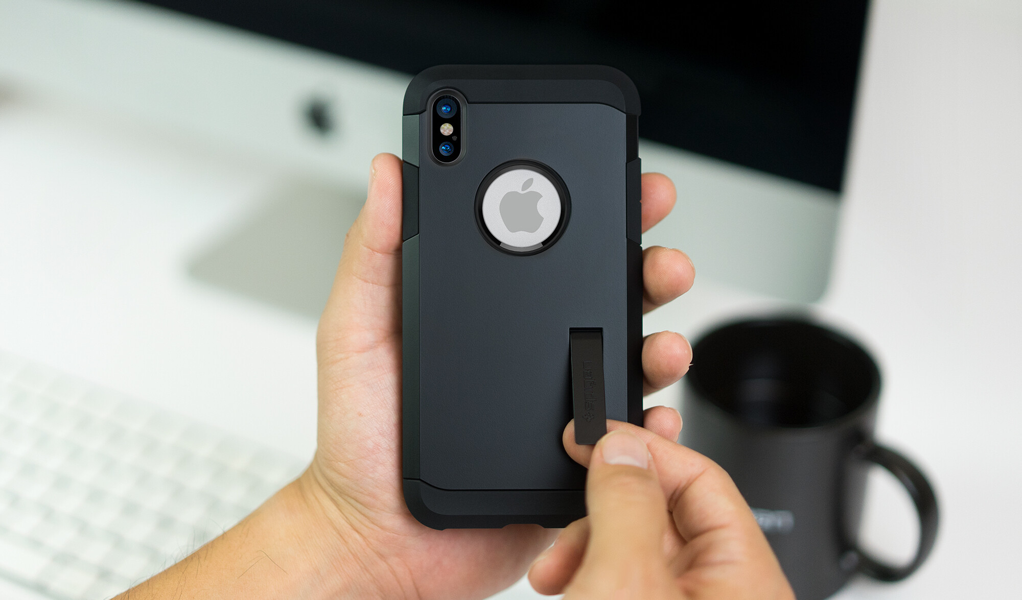 outlet store b1740 76e8a Spigen's case lines updated to cover the iPhone 8, 8 Plus, and ...