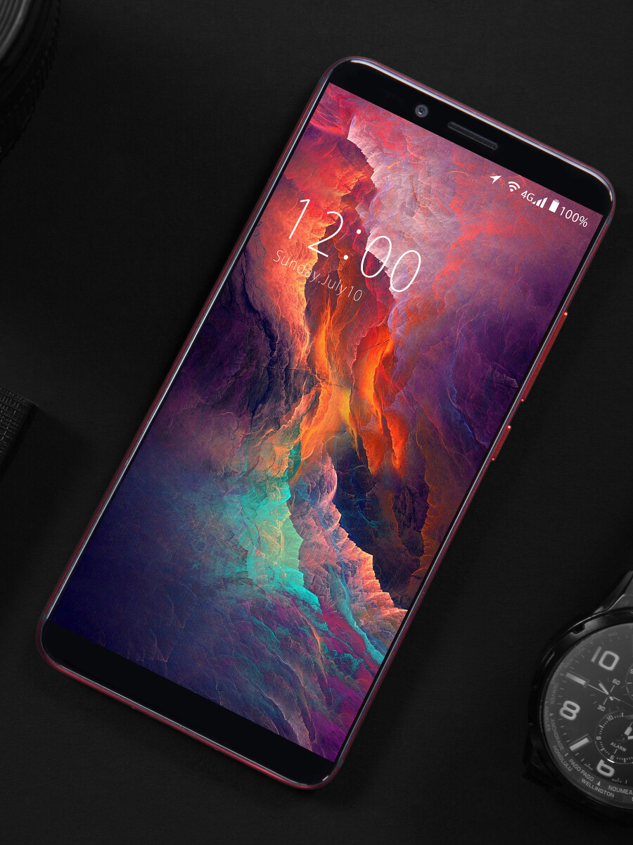 The UmiDigi S2 has a full-screen design and a massive 5,100 mAh battery to boot